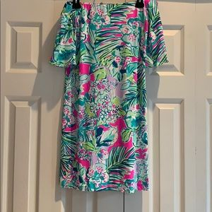 Lilly Pulitzer Off Shoulder Dress